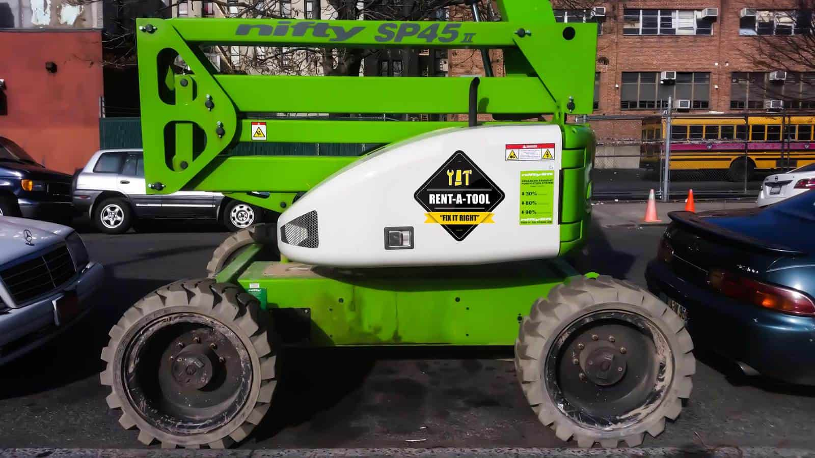 Boom Lift for Rent in Brooklyn, NY