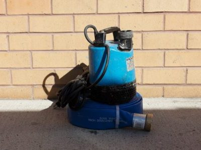 Electric 2 Inch Clear Water Pump Rental | rent a tool in nyc