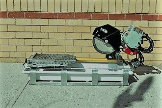 Wet Tile Saw 10 x 24 Inch Rental | rent a tool ny