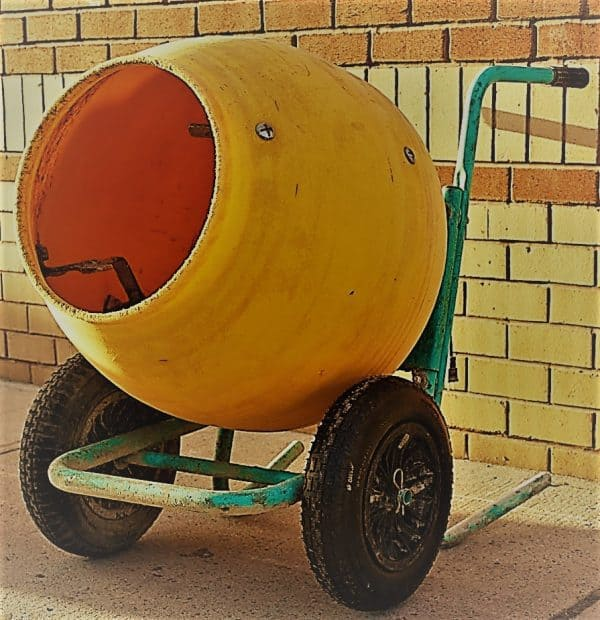 Electric Cement Mixer 5 Cubic | rent a tool ny