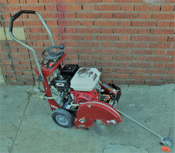 Walk Behind 14 Inch Concrete Gas Saw Rental | rent a tool ny