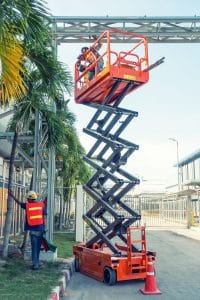 26 ft Scissor Lift Rental in Brooklyn NY | rent a tool ny