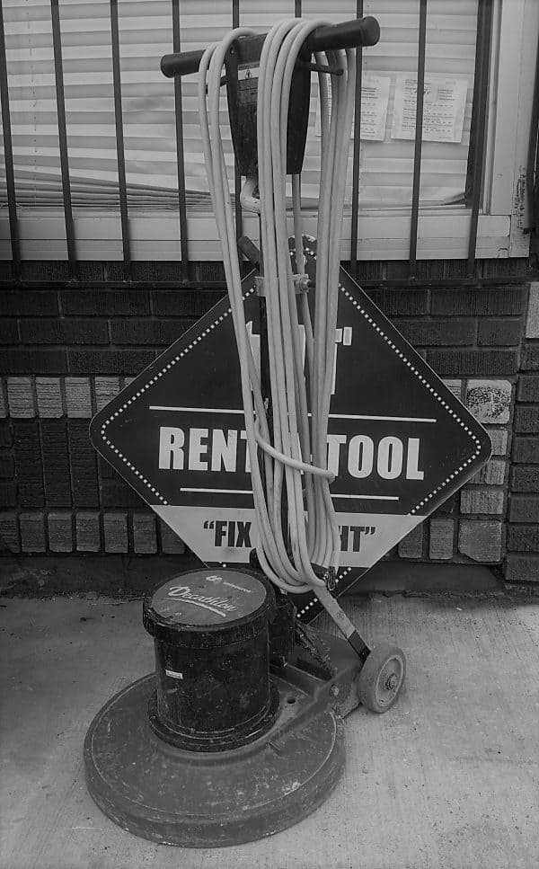 17 Inch Floor Buffer rental | rent a tool brooklyn ny