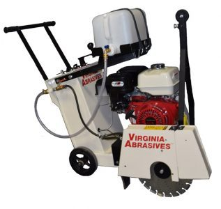 18 Inch Walk Behind Concrete Wet Saw | rent a tool ny