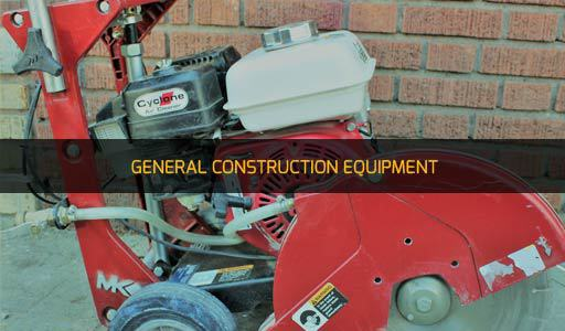 GENERAL CONSTRUCTION EQUIPMENT RENTAL