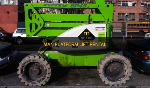 MAN PLATFORM LIFT RENTAL