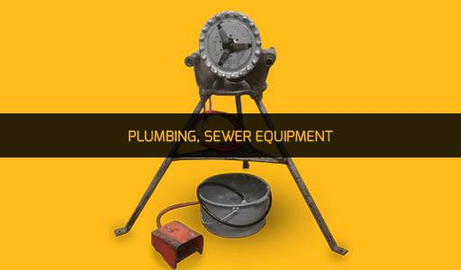 PLUMBING, SEWER EQUIPMENT RENTAL