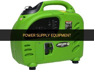 POWER SUPPLY EQUIPMENT RENTAL