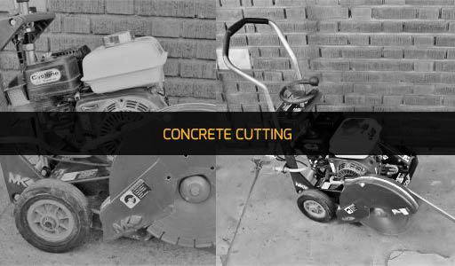 CONCRETE CUTTING EQUIPMENT RENTAL
