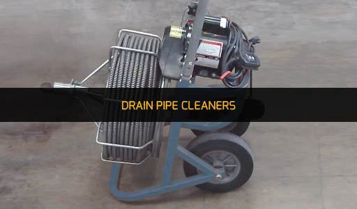 DRAIN PIPE CLEANERS RENTAL