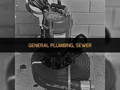 GENERAL PLUMBING, SEWER RENTAL