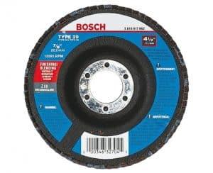 Bosch 4-1/2″ X 7/8″ Arbor 120 Grit Abrasive Grinding Wheel Type 29 FD29450120