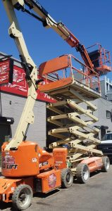 80 ft Articulating Boom Lift rental | rent a tool in nyc