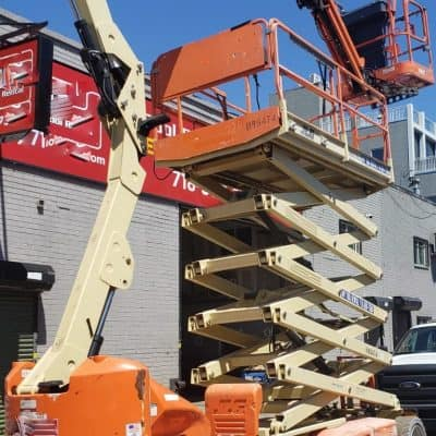 60 ft Articulating Boom Lift rental | rent a tool in nyc