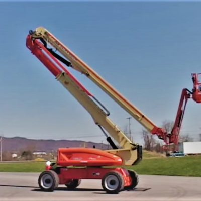 125-135 ft Articulating Boom Lift rental | rent a tool ny