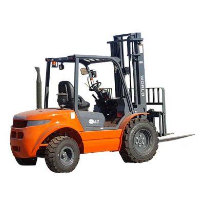 Forklift 12000LB Lifting Capacity - Diesel 8' Fork