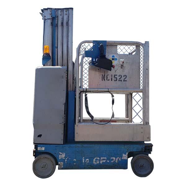 One Man 20' Lift 350 LB Capacity rent nyc