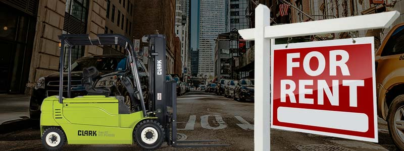 rent a forklift in ny
