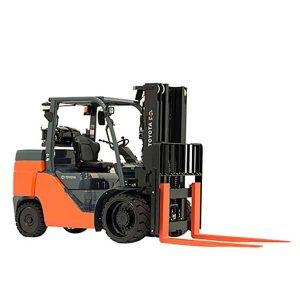Forklift 10000 Lifting Capacity - Diesel 8' Forks rent